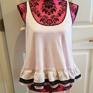 Victorias Secret Intimate Camisole BLING Bow Large